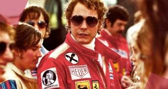 Daniel Bruhl as 'Niki Lauda'