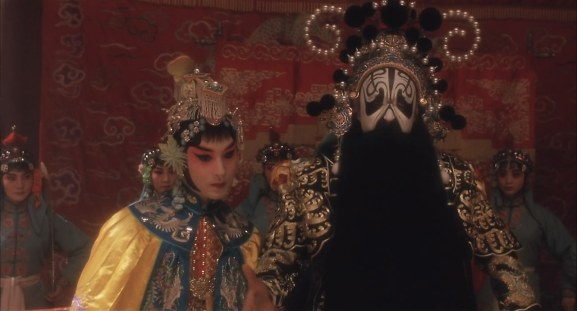 Douzi as Concubine Yu, Shitou as the King